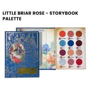 NIB Storybook Cosmetics-Little Briar Rose Palette